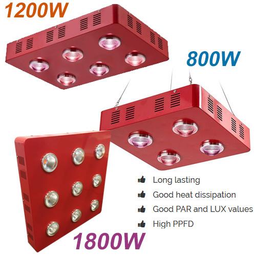 red LED Cob Grow Light
