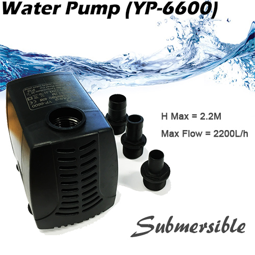 submersible water pump 2200L